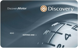 You can apply for a DiscoveryMotor Card if you have a Discovery credit card.